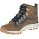 Merrell All Out Crusher Mid Shoes Men brown/blue